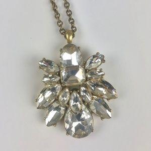 J.Crew Sparkle Pendant Necklace
